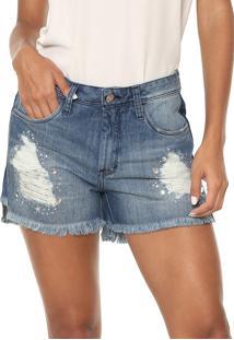 Short Jeans Iodice Ipanema Azul