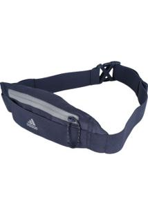 Pochete Adidas Running Belt - Adulto - Azul Escuro