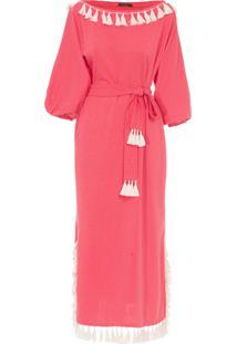 Vestido Marguerita - Vermelho