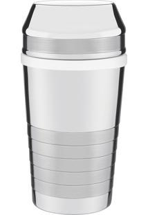 Coqueteleira Para Drinks Tramontina Millenium Em Aço Inox Com Detalhes Foscos 680 Ml 61346080