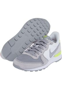 Tênis Nike Sportswear Wmns Internationalist Print Cinza