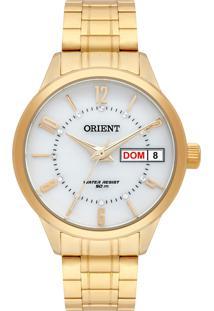 4ac0ff982be Eclock. Relógio Aço Dobrável Analógico Feminino Orient Clock Fgss2004b2kx