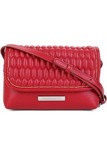 Bolsa Loucos & Santos Mini Bag Matelassê Feminina - Feminino-Vermelho