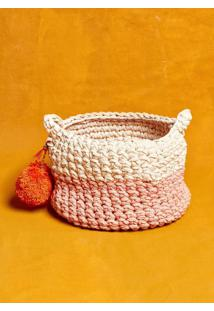 Cachepot Bicolor Rosa
