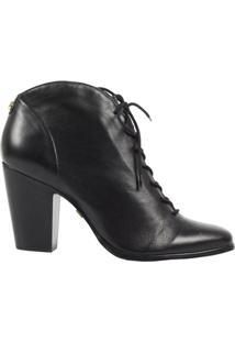 Ankle Boot Feminina Jorge Bischoff Napa J51065003 A06 - Feminino-Preto