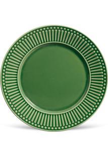 Conjunto 6Pçs Pratos Rasos Porto Brasil Roma Verde