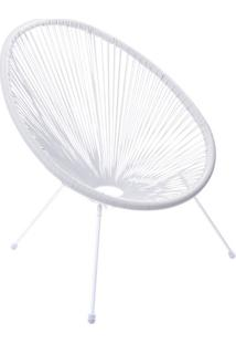 Cadeira Acapulco- Branca- 85X69X50Cm- Or Designor Design