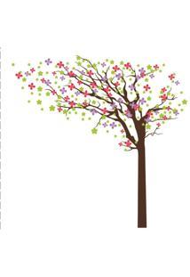 Adesivo De Parede Balihai Stickers 160X123 Spring Multicolorido