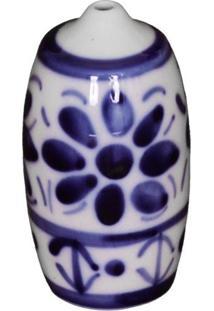 Azeitoneira E Paliteiro Em Porcelana Feita E Pintada A Mão - Monte Sião