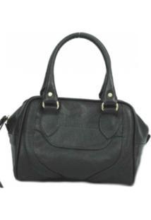 Bolsa Castor Couros Handbag Prada Preto
