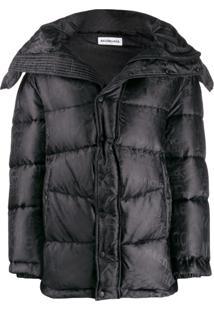 Balenciaga New Swing Puffer Jacket - Preto