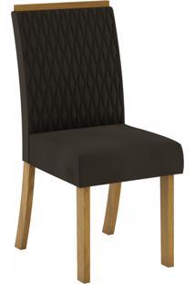 Cadeiras Para Cozinha Vega Nature/Marrom - Henn