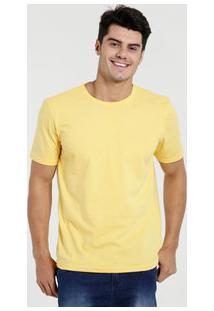 Camiseta Masculina Manga Curta Básica Marisa