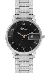 Relógio Condor Analógico Metal Cogl10Bq3P - Prata