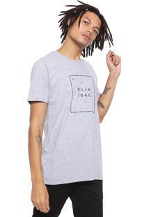 Camiseta Billabong Structure Cinza