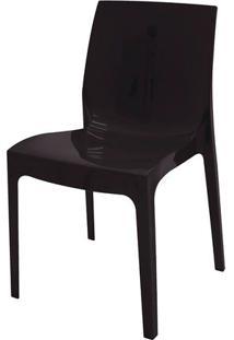Cadeira Alice Polida Preta Tramontina
