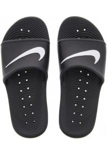 Chinelo Nike Kawa Shower - Slide - Feminino - Preto/Branco