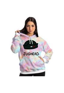 Blusa Moletom Jughead Riverdale Serie Casaco Tie Dye