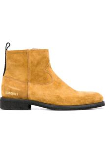 Golden Goose Ankle Boot Toro De Camurça - Marrom