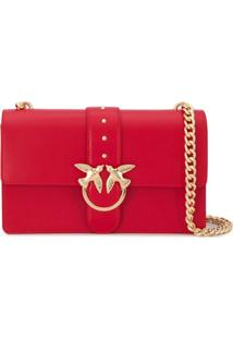 Pinko Love Shoulder Bag - Vermelho