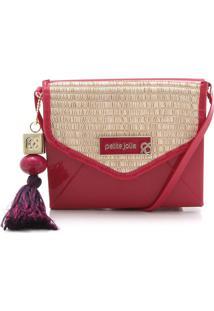 Bolsa Petite Jolie Tassel Vermelha