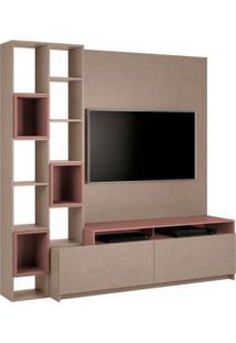 Estante Home Para Tv 49 Polegadas Nolli Faser E Ágata