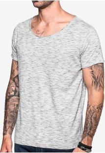 Camiseta Mesclada Gola Canoa 103501