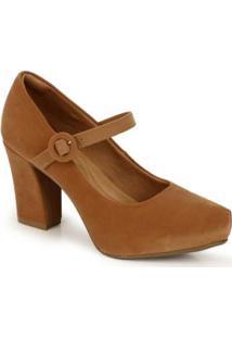 8ba4d492e Sapato Boneca Marrom feminino | Shoelover
