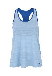 ... Camiseta Regata Nike Loose Support - Feminina - Azul Cla Azul Esc 61e077c39b7ef
