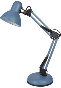 Luminária De Mesa Premier Iluminação Iluminação Azul