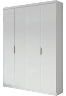 Guarda Roupa Alonzo Plus 4 Portas Branco