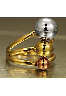 Pingente De Ouro Emoji Apaixonado Com 2 Rubis - Pg17153