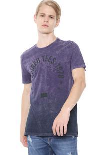 Camiseta Calvin Klein Jeans Inspired Roxa