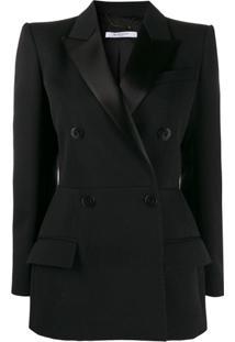 Givenchy Blazer Com Abotoamento Duplo - Preto