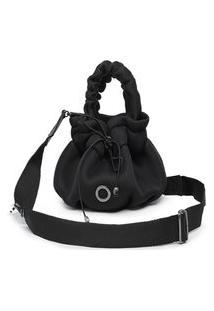 Bolsa Feminina Saco Pequena Bag Preta Sacola Bucket Lançamento Promoção