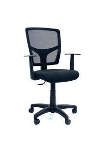 Cadeira Office Gerente Byartdesign Roma Preto