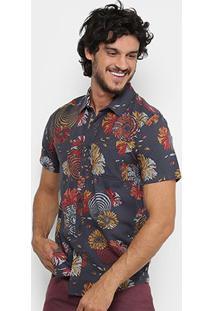 Camisa Volcom Stoney Delusion Imp Masculina - Masculino