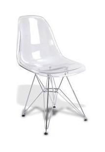 Cadeira Para Bar Umix231 Transparente Em Acrílico - Universal Mix