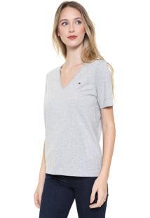 Camiseta Tommy Hilfiger Lucy Cinza