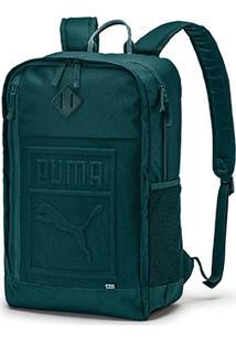 Mochila Puma S Backpack - Unissex-Verde