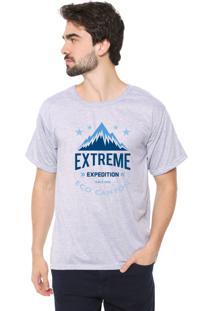 Camiseta Eco Canyon Extreme Expedition Cinza