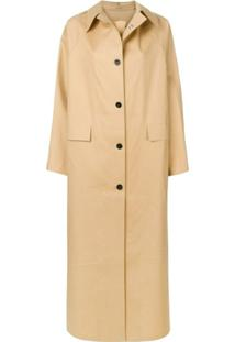 Kassl Editions Trench Coat Longo - Neutro