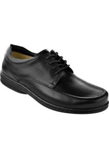 Sapato Social Derby Opananken Masculino - Masculino-Preto