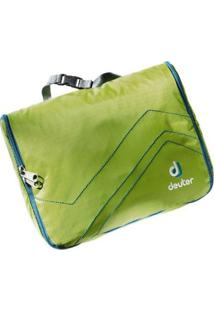 Necessaire Para Viagens Deuter Wash Bag Lite I - Unissex-Verde