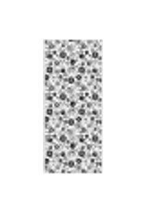 Adesivo Decorativo De Porta - Floral - Flores - 716Cnpt Auto Colante