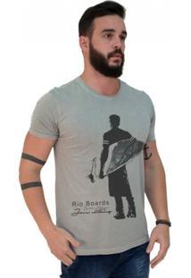 Camiseta Estonada Premium Rio Boards - Masculino