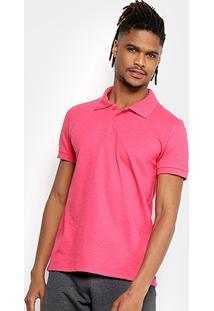 358737268a ... Camisa Polo Kohmar Piquet Básica Masculina - Masculino-Pink