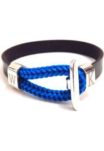 Pulseira Wosmock Florença - Feminino-Azul