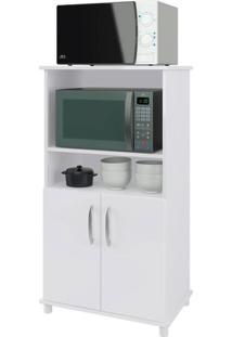 Gabinete Para Microondas Turim 2 Pt Branco