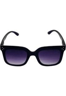 Óculos De Sol Khatto Standard New Downtown Feminino - Feminino-Preto